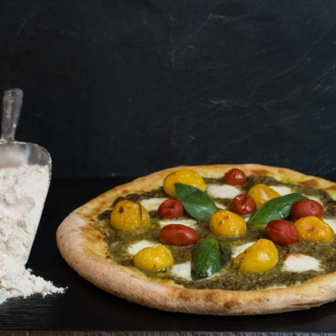 Photo d'une pizza pour la formation de pizzaiolo de Marseille